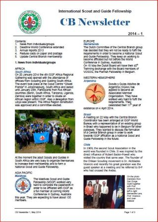CB Newsletter 1 2014