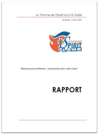 front page sgsf rapport FR
