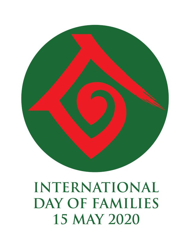 logo int day of families 2020